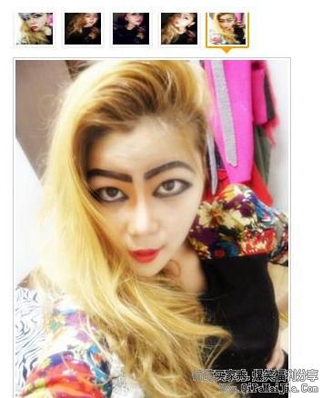 化妆品抹的好霸气