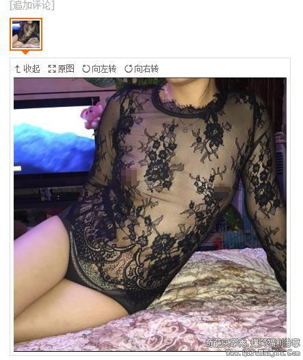 蕾丝透明内衣买家秀,都走光了哎。。。